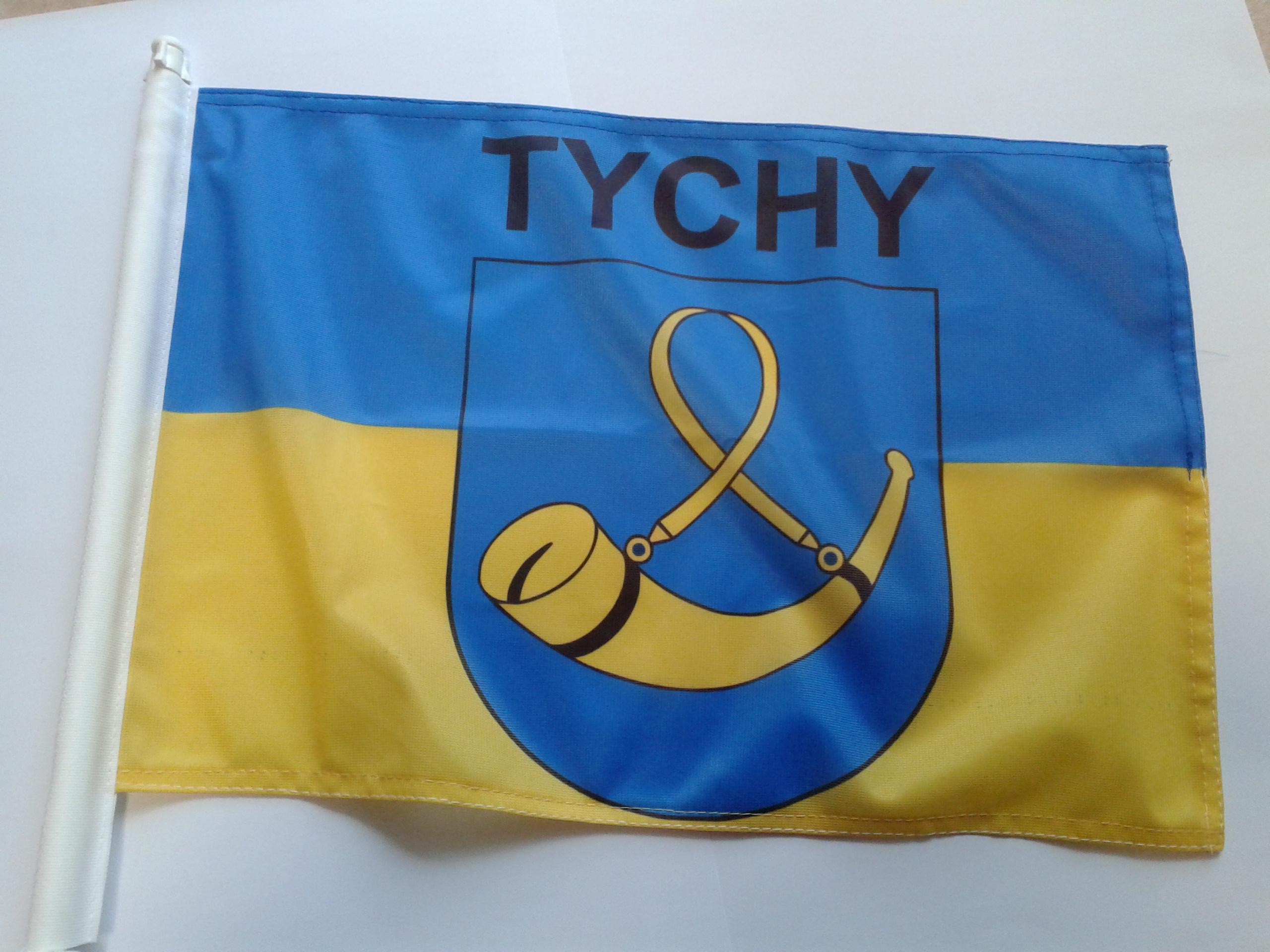 Chłodny FLAGI SAMOCHODOWE, NA MOTOR, NA ROWER - EKON STUDIO Sklep z flagami UD51